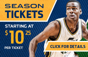 2013-14 Utah Jazz Season Tickets