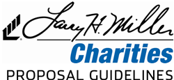 LHM Charities Proposal Guidelines