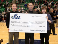 Friends of the Utah Jazz Assists Family Counseling Center