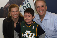 Utah Jazz Helps Local Children's Hospital