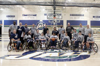 Utah Jazz Supports Wheelchair Basketball Team