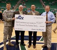 Friends of the Utah Jazz Assists Utah National Guard