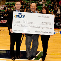 Friends of the Utah Jazz Assists The Haven