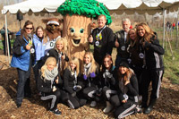 Utah Jazz and AT&T Assist Salt Lake City Reforestation Efforts