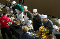 Utah Jazz Hosts Thanksgiving Celebration for Homeless