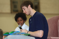 Utah Jazz Players Read at Local Elementary Schools