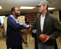 Utah Jazz Visits Local Veterans