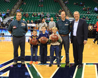 Utah Jazz Honors Scout Contest Winners