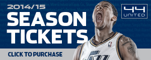 Utah Jazz 2014/15 Season Tickets