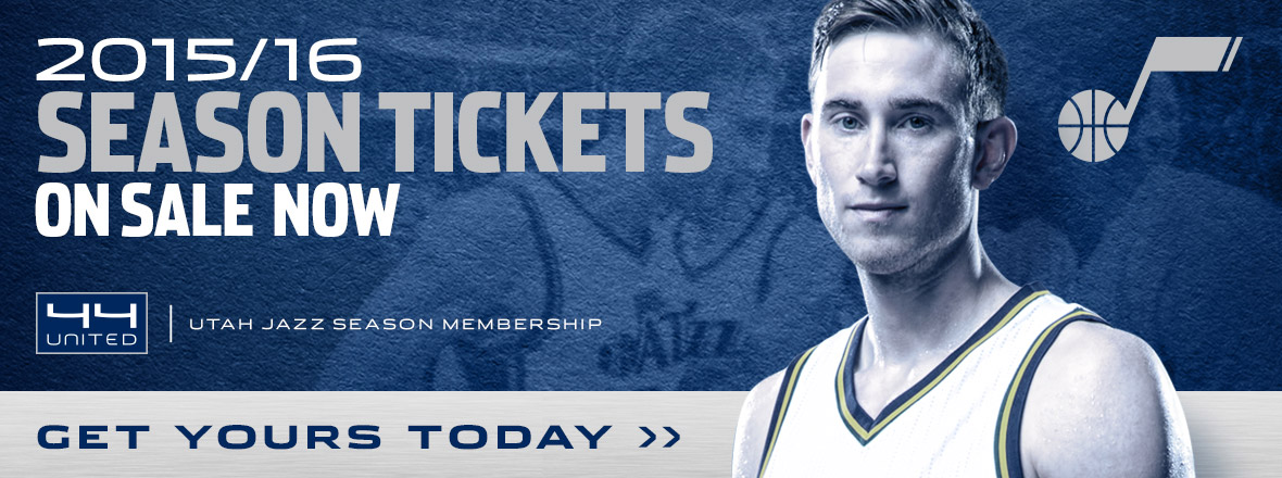 2014/15 Utah Jazz Season Tickets