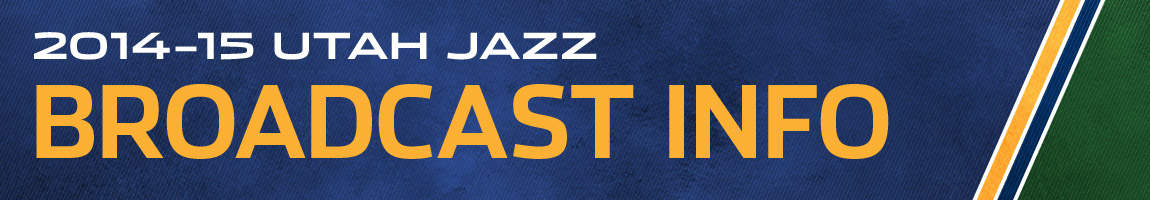 Utah Jazz Broadcast Information