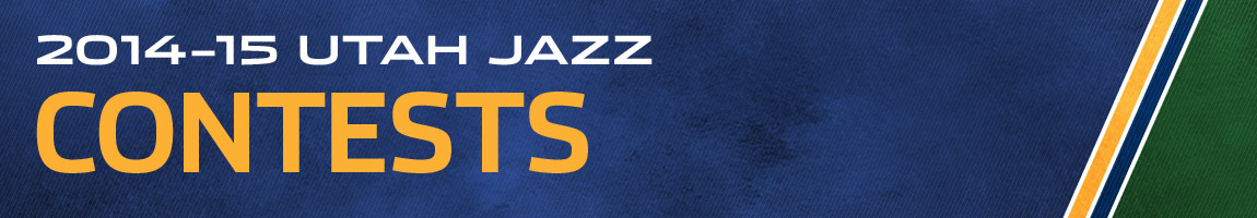 2014-15 Utah Jazz Contests