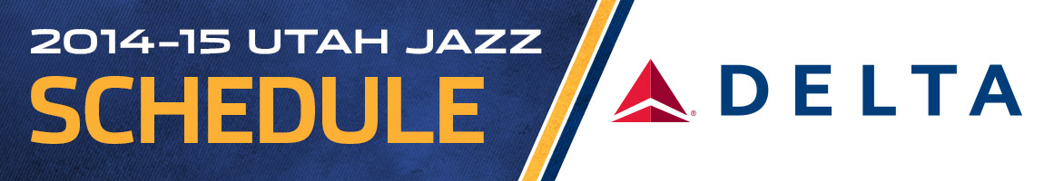 2014-15 Utah Jazz Schedule – Presented by Delta