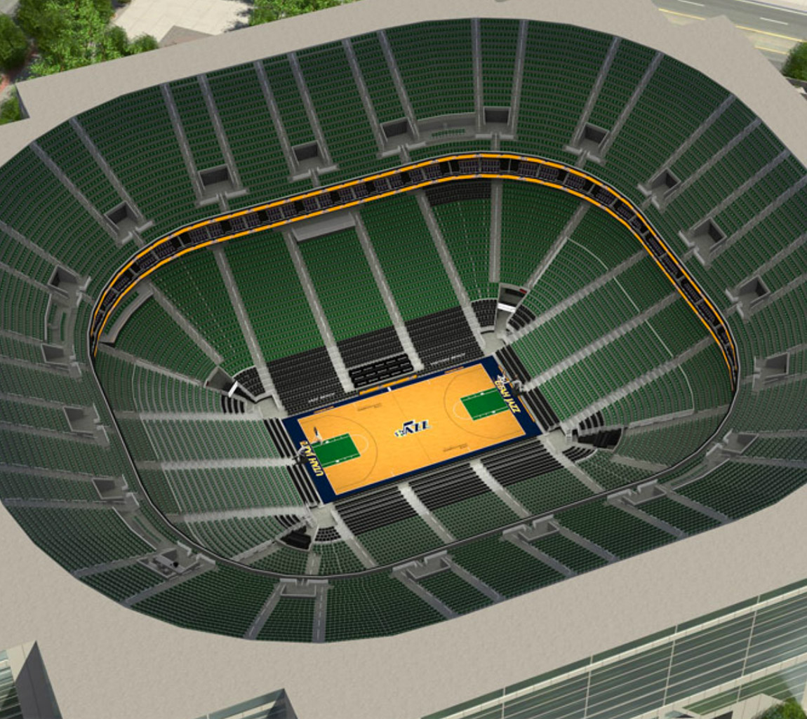 Utah Jazz Seating Map  Utah Jazz