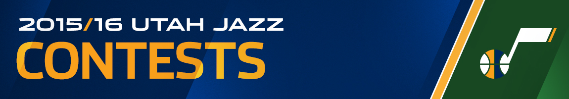 2015-16 Utah Jazz Contests