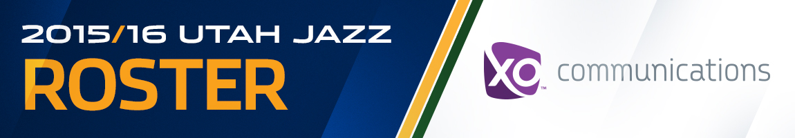 2014-15 Utah Jazz Roster – Presented By XO Communications