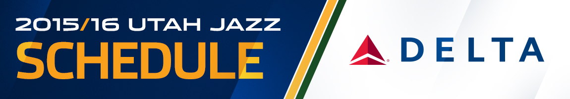 2015-16 Utah Jazz Schedule – Presented by Delta