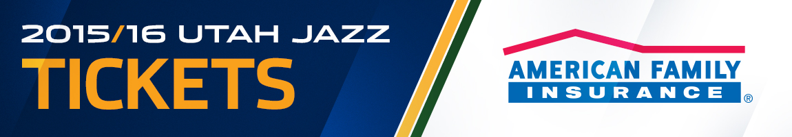 2015-16 Utah Jazz Ticket Central Presented By American Family Insurance