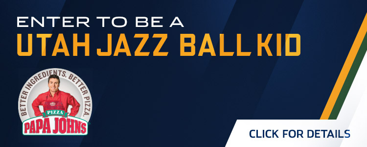 Enter to be a Utah Jazz Ball Kid