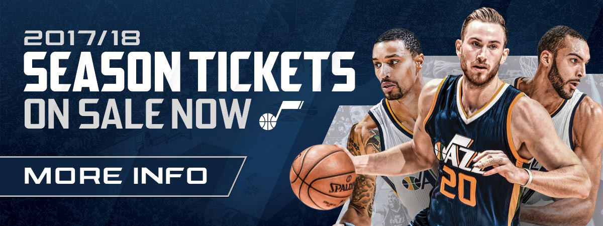 2017-18 Utah Jazz Season Tickets