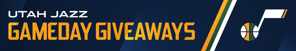 Utah Jazz Game Day Giveaways Calendar