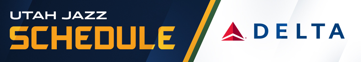 Utah Jazz Schedule – Presented by Delta