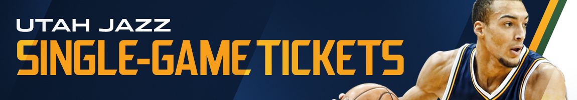 Utah Jazz Single Game Tickets
