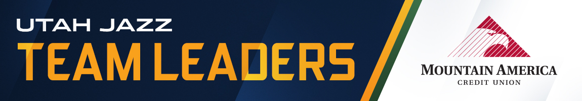 Utah Jazz Team Leaders Presented By Mountain America Credit Union