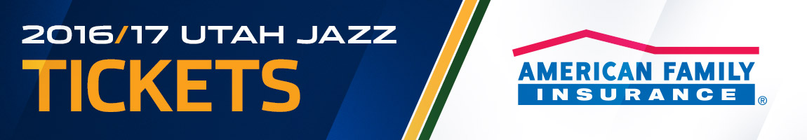 2016-17 Utah Jazz Ticket Central Presented By American Family Insurance
