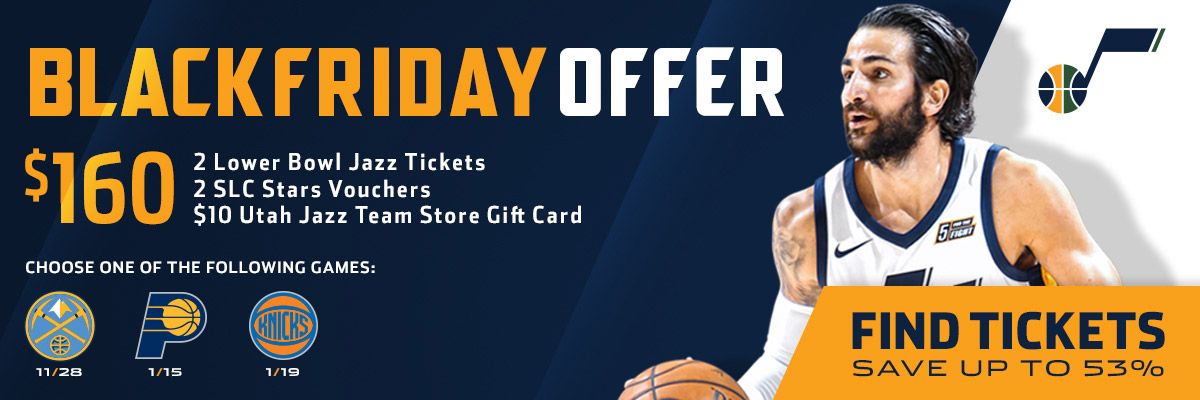 Utah Jazz Black Friday Offer