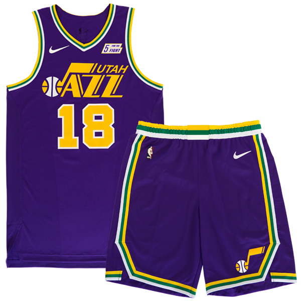 Utah Jazz Classic Edition Uniform