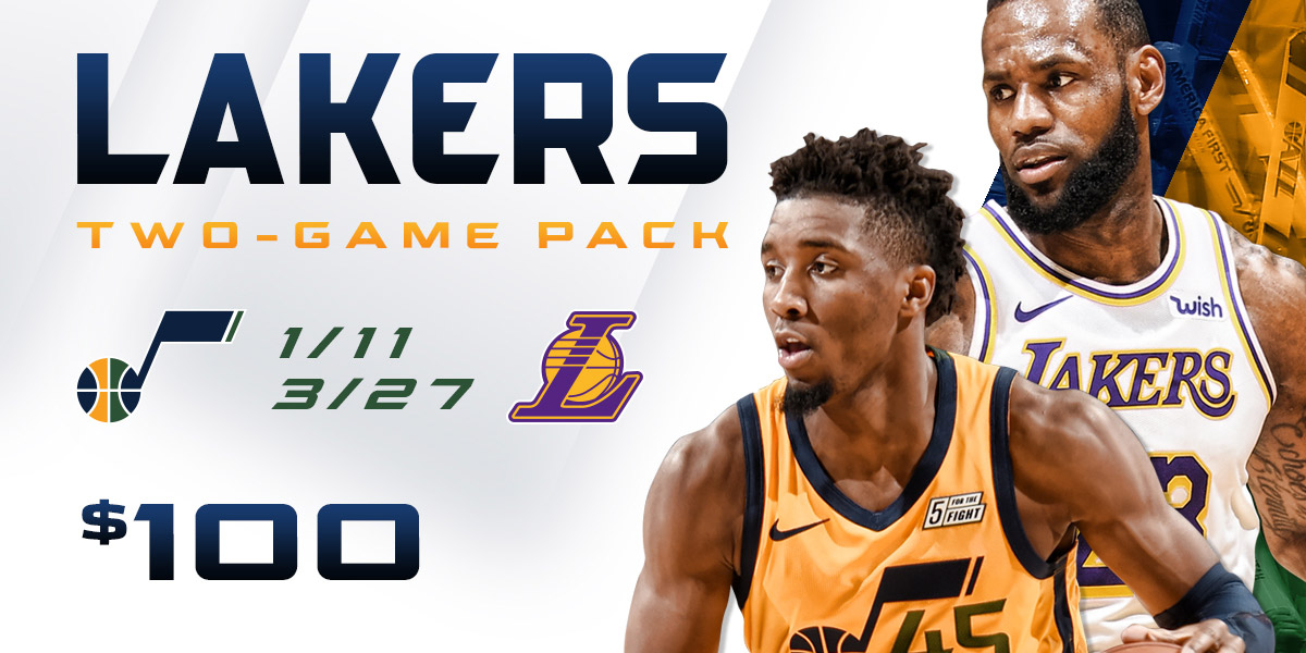 Lakers Two-Game Pack