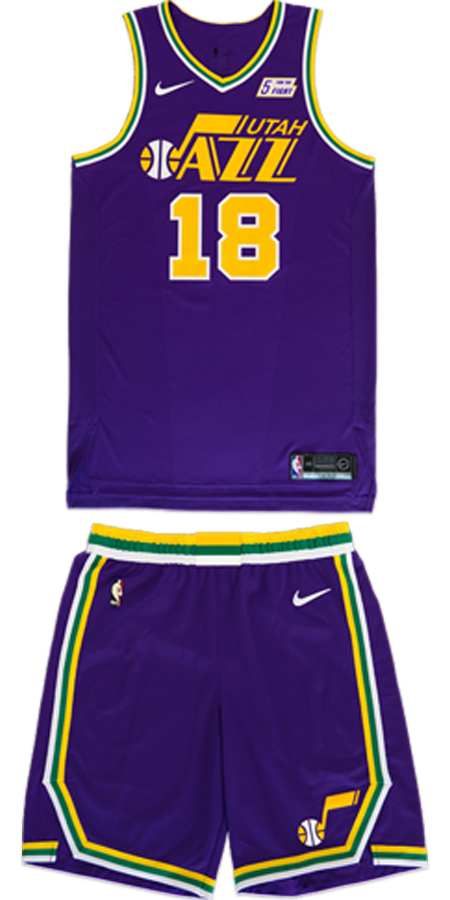 the best attitude d0c6c 00527 2018/19 Utah Jazz Nike Uniform Collection | Utah Jazz