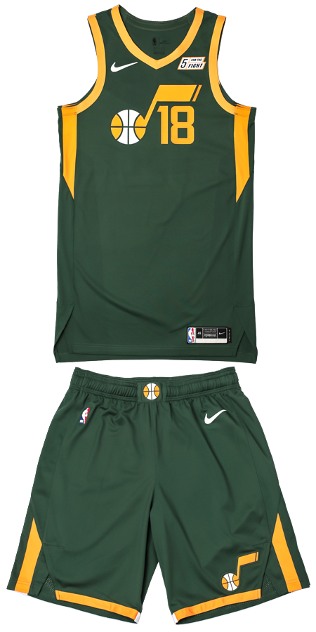 the best attitude b8be8 450fb 2018/19 Utah Jazz Nike Uniform Collection | Utah Jazz
