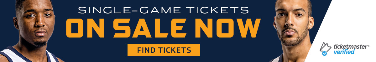 Utah Jazz Single-Game Tickets On Sale Now