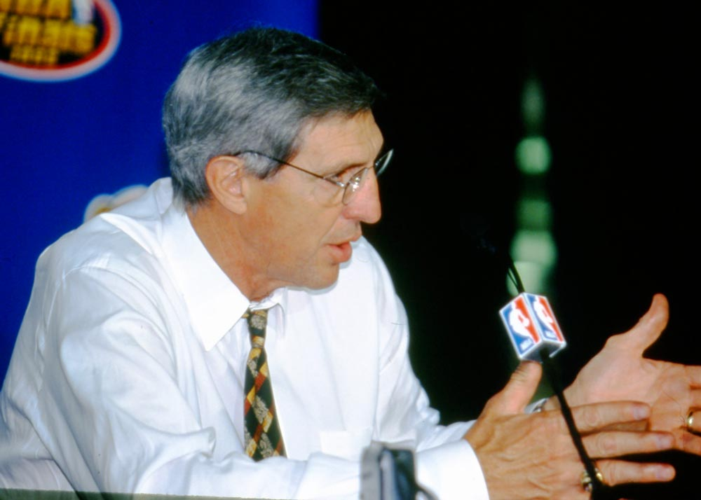 Jerry Sloan in an interview.