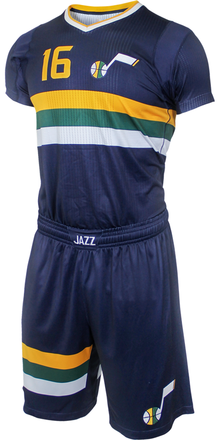 Image result for jazz sleeved jersey