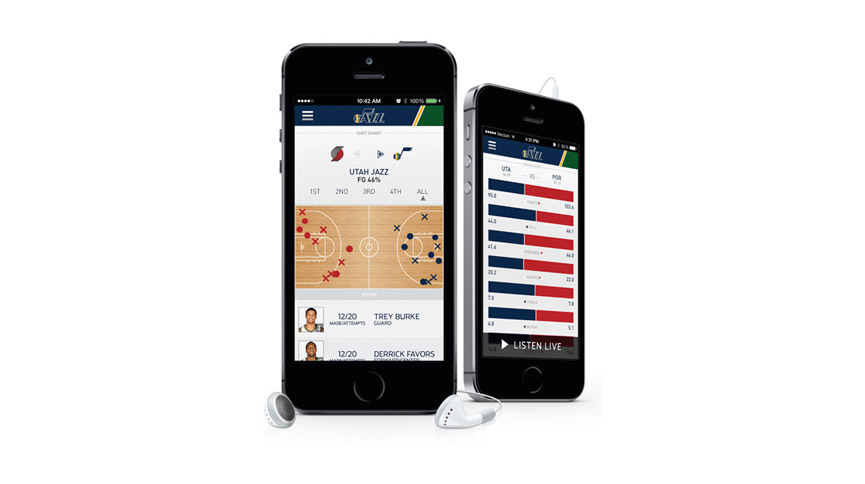 Download the Utah Jazz App