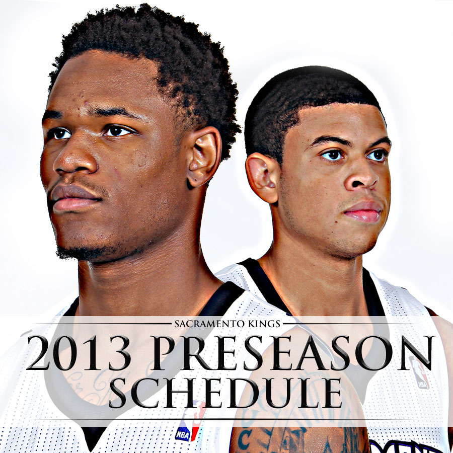 Preseason Schedule Unveiled