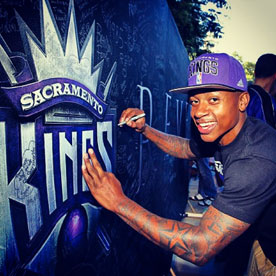 Kings Fans Celebrate at LLTK Rally