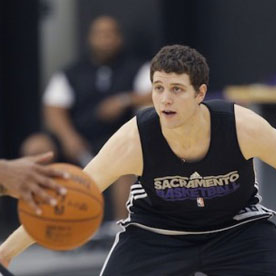 Kings Staff Attends Draft Combine