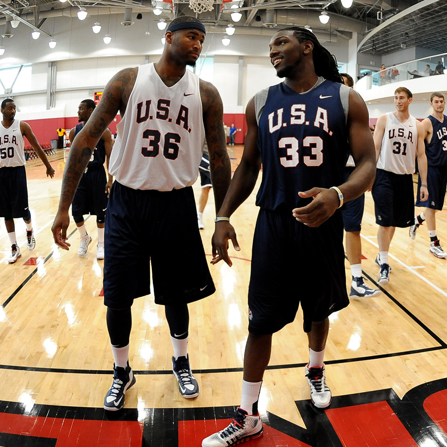 DMC Joins Team USA Camp
