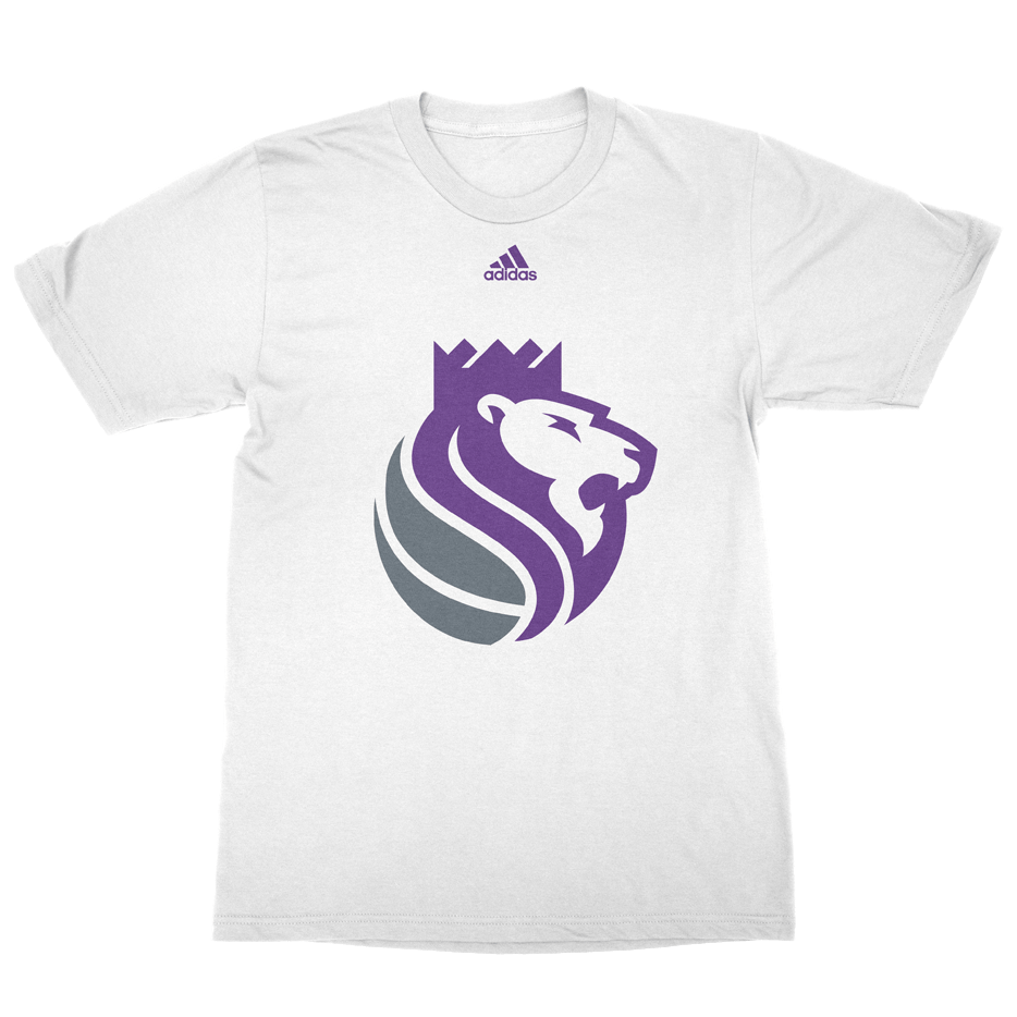 Secondary lion logo on white t-shirt