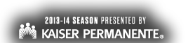 2013-13 Season Presented By Kaiser Permanente