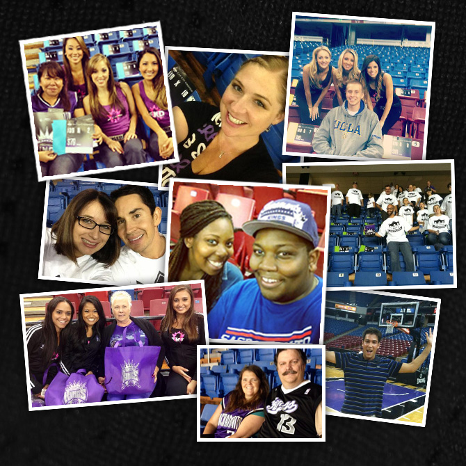 Kings Select-A-Seat Events