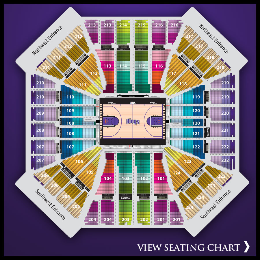 Kings Seating Chart