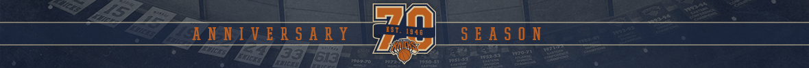 New York Knicks 70th Anniversary