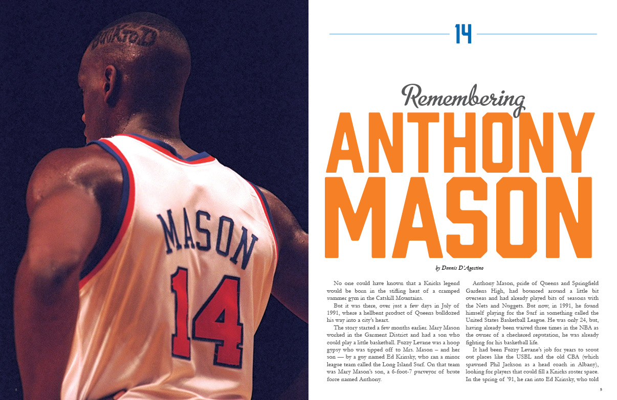 Remembering Anthony Mason Page 1 and 2