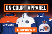 Knicks On-Court Apparel