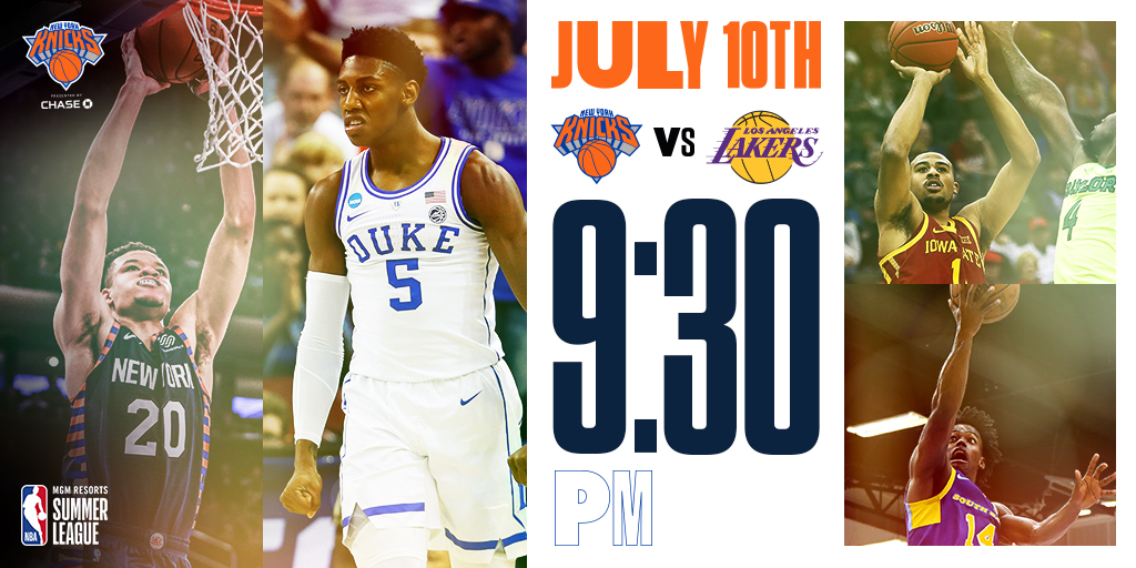 Knicks-Lakers-Summer-League-2019